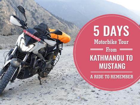 5 Days Motorbike Tour from Kathmandu to Mustang